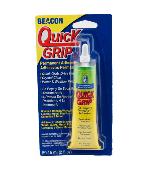 Quick Grip 2oz Liquid Solvent for Bonding Plastics