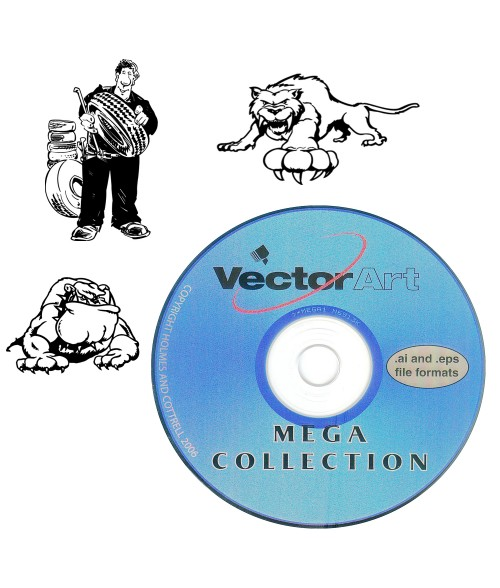 Vector Art Clip Art Library - Mega Collection 1