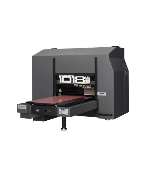 "Direct Color Systems 1018 UV MVP2 UV-LED Printer (2"" Height IR2 Edition)"
