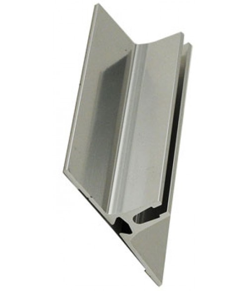 "Scott Silver 4"" Projecting Wall Bracket"