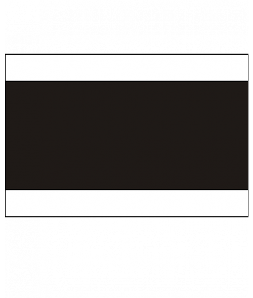 "Rowmark Heavy Weights White/Black/White 1/4"" Engraving Plastic (48"" x 96"" Sheet)"