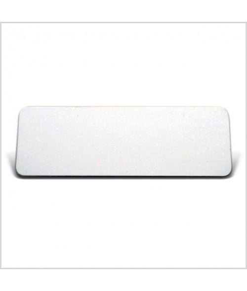 "Image Maker Dynasub White 1"" x  3"" .020"" Aluminum Blank"
