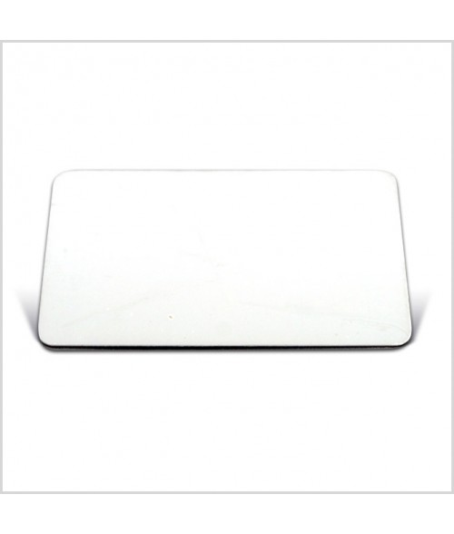 "Image Maker Unisub White 1.5"" x  2.75"" .030"" Aluminum Blank"