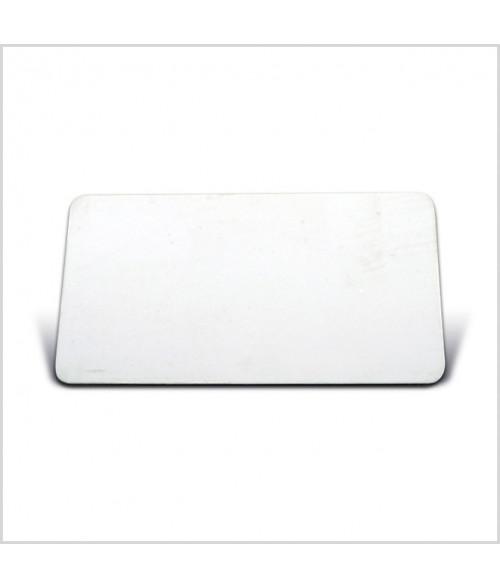 "Image Maker White 1.5"" x 2.75"" .025"" Multi-Use Aluminum Blank"