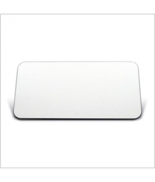 "Image Maker Unisub White 1.5"" x  3"" .030"" Aluminum Blank"
