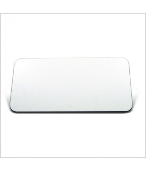 "Image Maker White 1.5"" x 3"" .025"" Multi-Use Aluminum Blank"