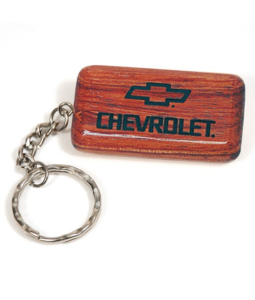 Rosewood Rectangle Keychain