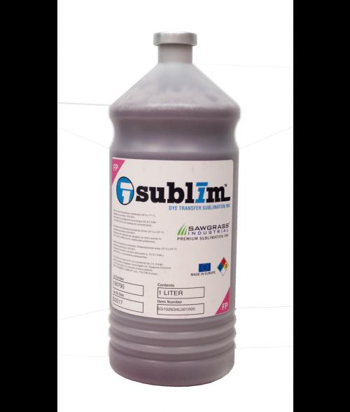 Sawgrass SubliM Fluorescent Pink 1 Liter Bulk Ink (Large Format)