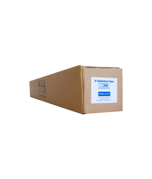 "Johnson Plastics Tacky III 44"" x 328' Sublimation Paper Roll"
