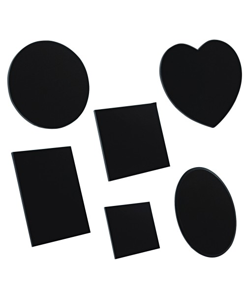 Black Granite Tile Sample Kit