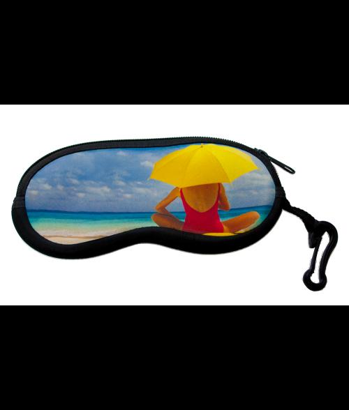 Zippered Neoprene Eyeglass Case