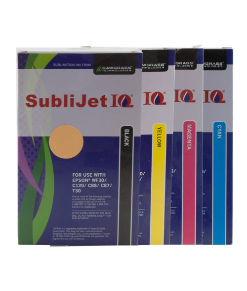 Sawgrass Sublijet-IQ Ink Kit (Epson WF30|C120|C88|C86|C84)