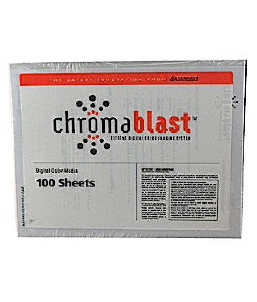 "Chromablast 8.5"" x 11"" Paper (100 Sheets)"