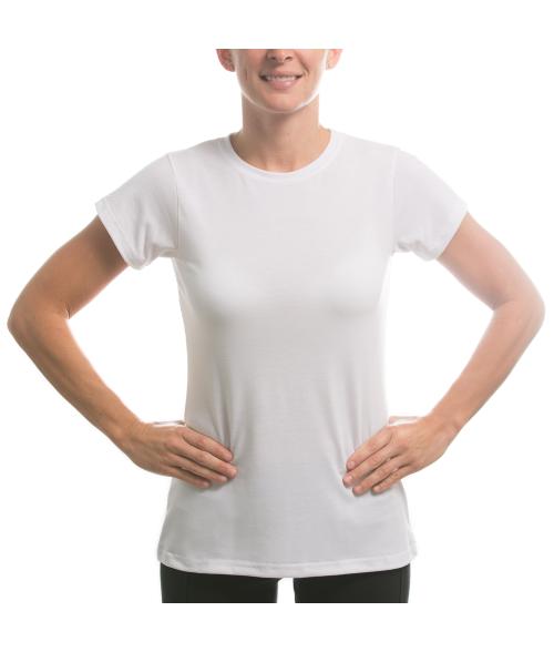 Vapor Ladies White Slim Tee (XL)