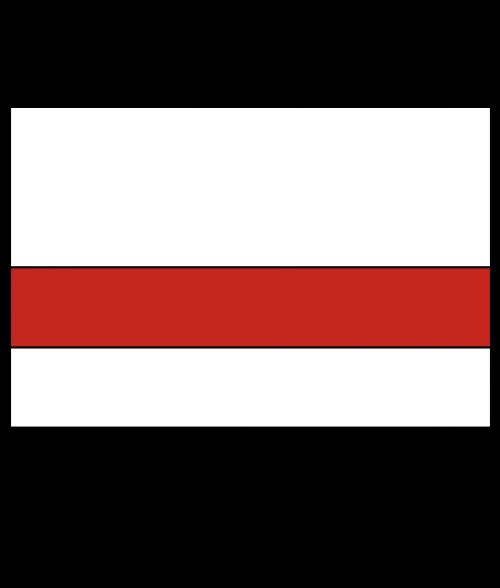 "Rowmark LaserMax White/Crimson 1/16"" Engraving Plastic (18"" x 24"")"