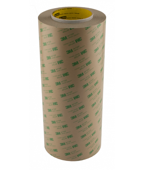 "3M 467MP 12"" x 60yd .002"" Adhesive Transfer Tape"