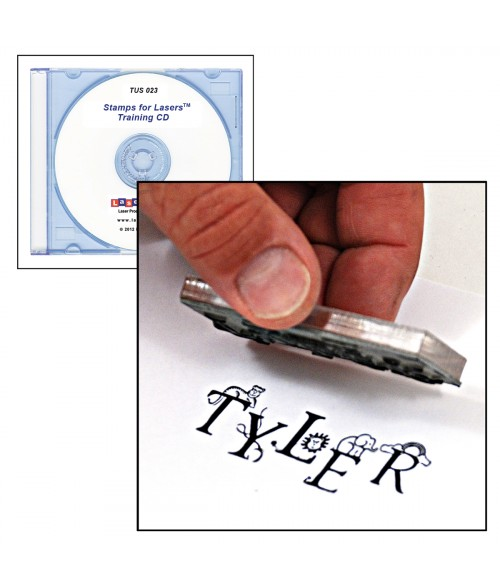LaserBits Stamps for Lasers Training CD