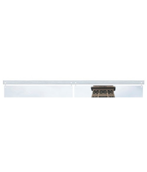 "Unisub ChromaLuxe 23.8"" Hanging Bar for 11.7"" Square Tiles"