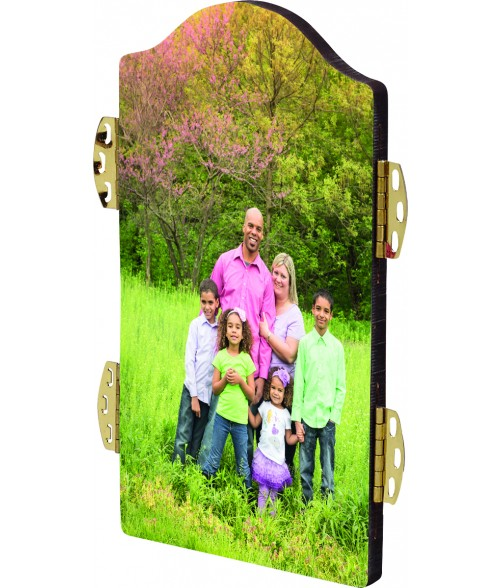 "Unisub ChromaLuxe 7"" x 5"" Arch Top Center Hardboard Photo Panel"
