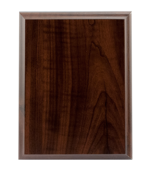 "Laminated Cherry 6"" x 8"" Plaque Base"