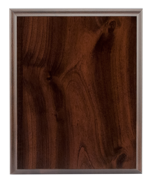 "Laminated Cherry 8"" x 10"" Plaque Base"