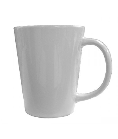 Rhinocoat White 12oz Latte Mug (36/Case)