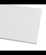 "Rowmark ColorHues White 1/8"" Engraving Plastic"