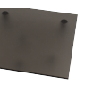 "Rowmark ColorHues Smoke 1/8"" Translucent Engraving Plastic"