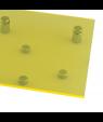 """Rowmark ColorHues Lemon Zest 1/8"""" Translucent Engraving Plastic"""