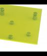 "Rowmark ColorHues Citron 1/8"" Translucent Engraving Plastic"