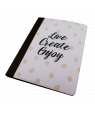 "9-1/2"" x 12-1/2"" Fabric Notebook"