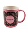 Pink Metallic 11oz Mug