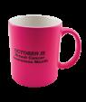 Matte Neon Pink 11oz Mug