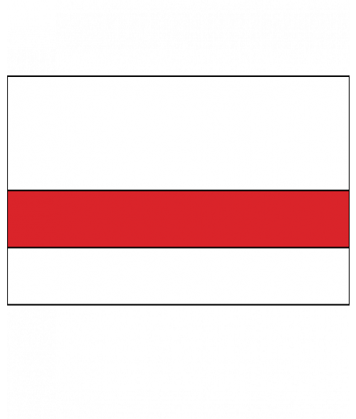 Rowmark Satins White/Red Engraving Plastic