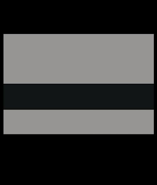 """Rowmark Satins Grey/Black 1/16"""" Engraving Plastic"""