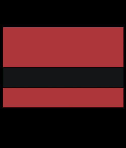 """Rowmark Satins Red/Black 1/16"""" Engraving Plastic"""
