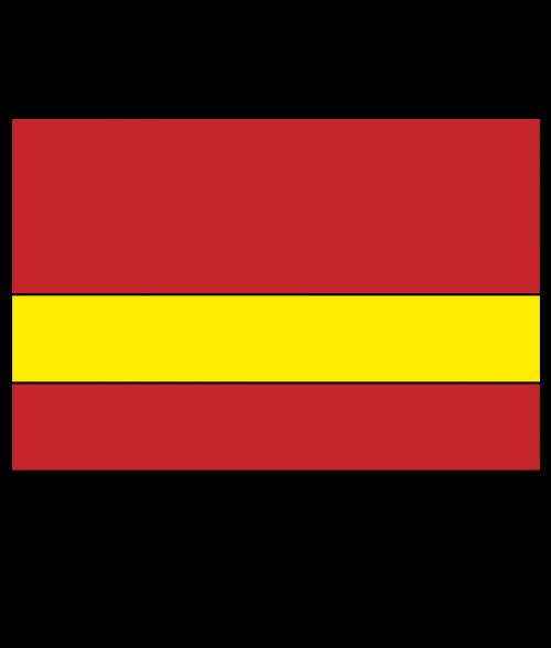 "Rowmark Satins Red/Yellow 1/16"" Engraving Plastic"