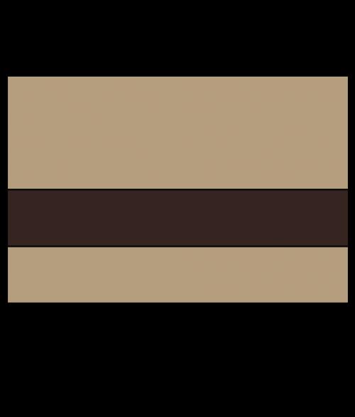 """Rowmark Satins Beige/Chocolate Brown 1/16"""" Engraving Plastic"""