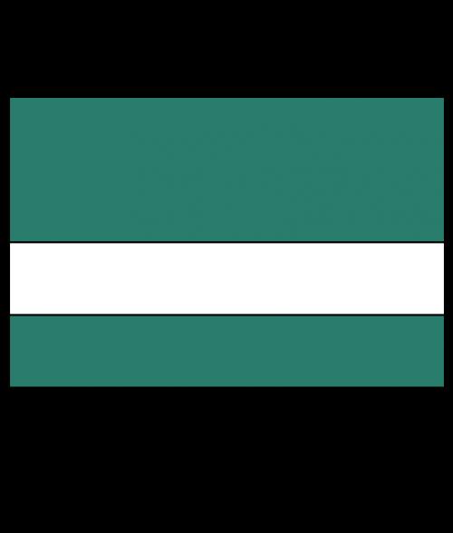 Rowmark Satins Green/White Engraving Plastic