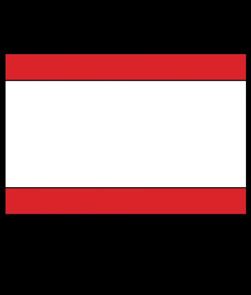 "Rowmark Satins Red/White/Red 1/16"" Engraving Plastic"