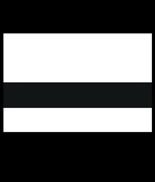 Rowmark Satins White/Black Engraving Plastic