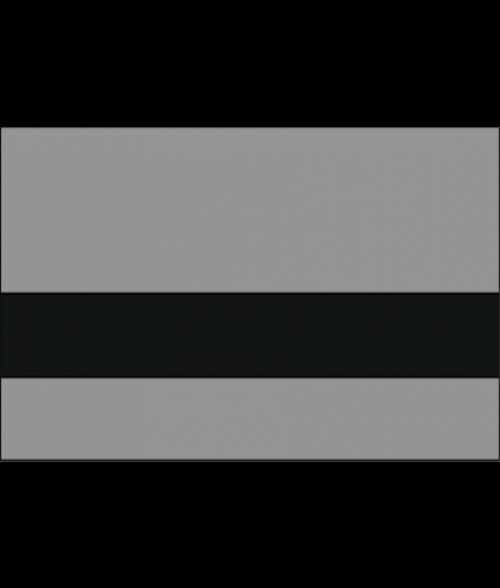 Rowmark Satins Grey/Black Engraving Plastic