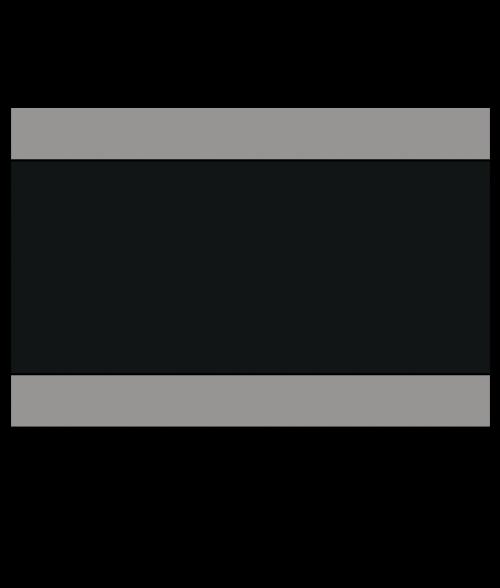 "Rowmark Satins Grey/Black/Grey 1/8"" Engraving Plastic"