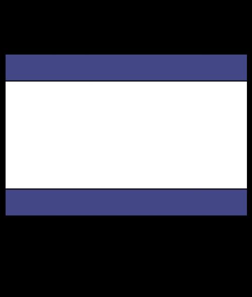 "Rowmark Satins Purple/White/Purple 1/8"" Engraving Plastic"