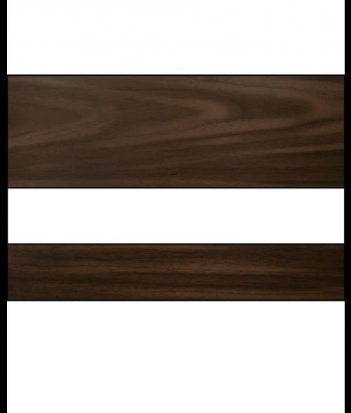 "Rowmark Mattes English Walnut/White 1/16"" Engraving Plastic"