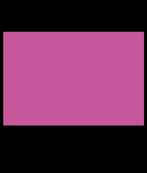 Rowmark ADA Alternative Passion Pink Engraving Plastic