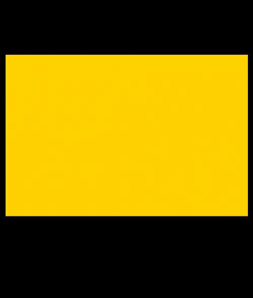 "Rowmark ADA Alternative Yellow 1/32"" Engraving Plastic"