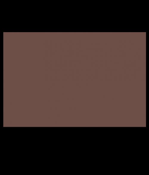 Rowmark ADA Alternative Medium Brown Engraving Plastic