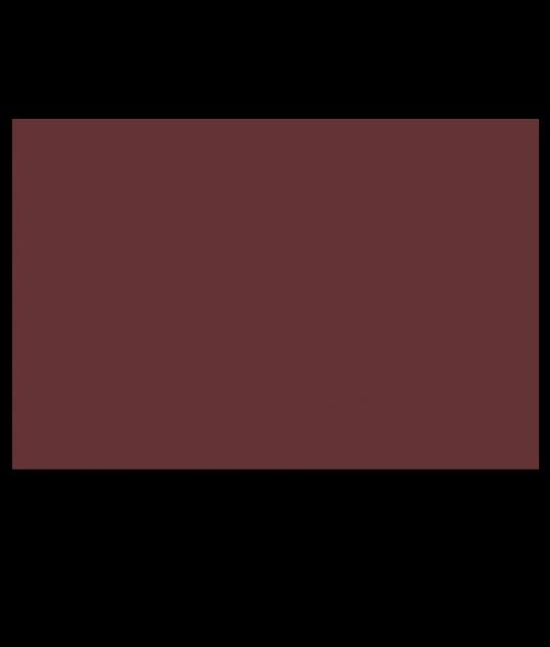 "Rowmark ADA Alternative Burgundy 1/16"" Engraving Plastic"