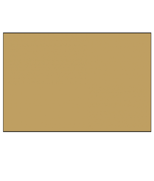"Rowmark ADA Alternative Gold 1/16"" Engraving Plastic"